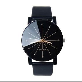 2733859acd0 Relógio De Pulso Quartz Pulseira De Couro Feminino - Relógios no ...