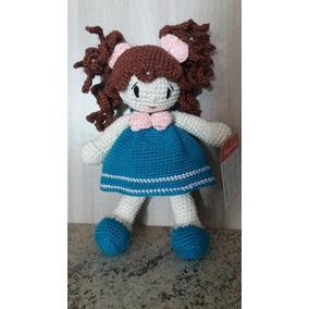 Boneca De Croche Amigurumi