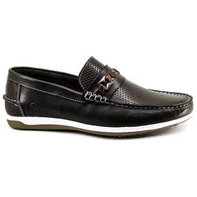 ec642bf20 Couro Marrom Furadinho Masculino Mocassins - Sapatos no Mercado ...