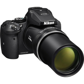 Camera Digital Nikon Semi Profissiol P900 Zoom 83x Wi-fi Gps