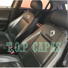 Capas Banco Carro 100% Couro Renault Clio 1996 A 2016