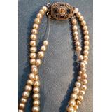 55f1c930d48a Antiguo Collar Perla Tipo Majorica A Enhebrar 40 Cm Abierto