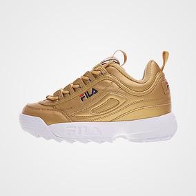 Tenis Disruptor Feminino Dourado 2019