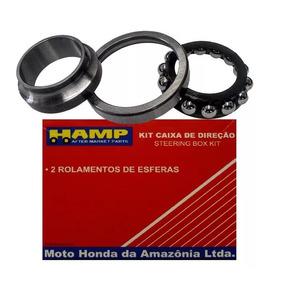 Kit Caixa Direção Bros Nxr 125 150 160 Original Honda