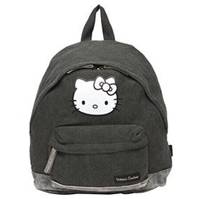 caa06fc9b Hello Kitty Mochila Mochila Bolso De Escuela Lona Algodon Hx
