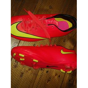 quality design 60c54 e1ec3 Botines Par Nenes Nike Rosa Mercurial - Botines en Mercado Libre ...