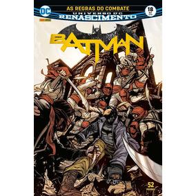 Hq Batman Renascimento 18 As Regras De Combate Panini Comics