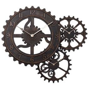 Reloj De Pared Con Engranaje