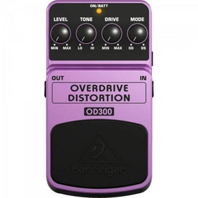 Pedal Over Drive Od300 Roxo Behringer