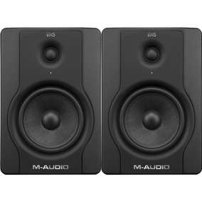 Monitor De Estúdio M-audio Bx-5 Carbon Black (par)