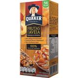 Kit 5 Cereal Em Barra Damasco E Ameixa Quaker 60g Caixa Com