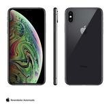 iPhone Xs Max Cinza Tela 6,5 4g 256 Gb 12 Mp Mt532bz/a
