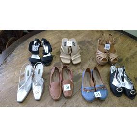91cac1d2223 Sapatos Femininos (lote Com 07 Pares) Semi Novos