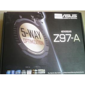 Tarjeta Madre Asus Z97-a 5.way Optimization