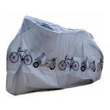 Capa Para Bicicleta Impermeavel Protecao Contra Sol Chuva Pó