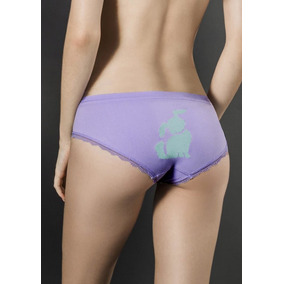 5 Pack Panty Seamles Multicolor Animales Panel Atras 1379730