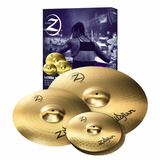 Set De Platillos Zildjian Plz4pk 14 Hi Hats 16 Crash 20 Ride