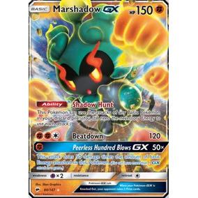 Marshadow Gx 80/147 - Pokémon Tcg - Carta Em Português