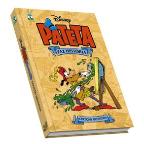 Hq Pateta Faz História L. Da Vinci Walt Disney Frete Grátis