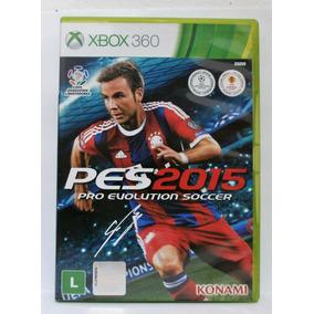 Pro Evolution Soccer Pes 2015 Xbox 360 Usado Mídia Física