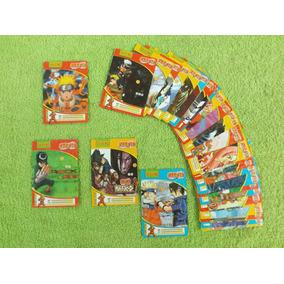 Antigo Lote De 35 Cards Cartas Do Naruto Em Inglês