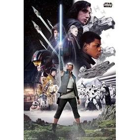 Posters Star Wars - Guerra Nas Estrelas - O Grupo -57x85cm