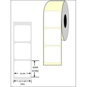 Etiqueta Para Balança Toledo 40x40 Caixa Com 100rolos