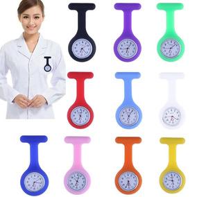 2 Relógio De Bolso Silicone Enfermagem Hospital