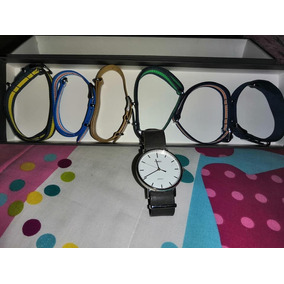 Reloj Timex Con Correas Intercambiables (set De Estuche)