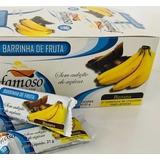 Bombom De Banana Diet Zero Lactose Com Cobertura Chocolate