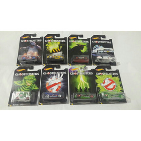 Hot Wheels Ecto 1 Set Completo Ghostbusters 8 Miniaturas