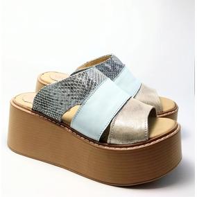 Sandalias 5 Cm Plataforma - Zapatos de Mujer en Mercado Libre Argentina 10117978ede