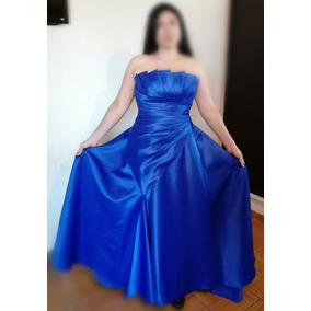 Vestidos para graduacion color azul electrico
