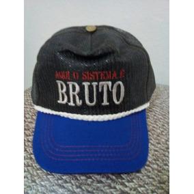 Bone O Sistema E Bruto - Bonés no Mercado Livre Brasil 980f78f0326
