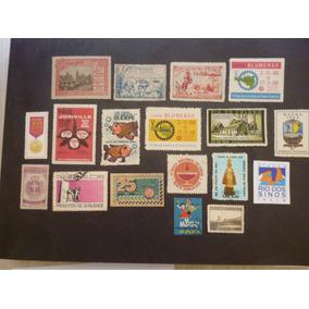 Brasil 18 Selos De Propaganda Antigos - L - 4339