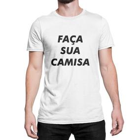 77de03f2a Impressão Digital - Camisa Masculino no Mercado Livre Brasil