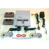 Consola Super Nintendo Snes - 001 Original 1991 Garantia