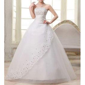 Vestido De Noiva Modelo Princesa - Manequins 40 A 44