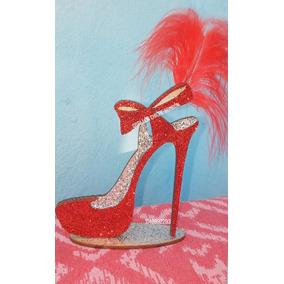 Zapato 15 Años Souvenirs 50 Años Mujer Brillante