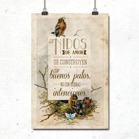 Poster Se Construyen Con Buenos Palos...