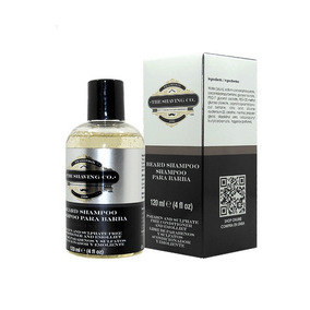 Shampoo Barba Shaving Co Sin Acondicionador Aditivos 120 Ml
