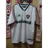 e16d3215a2 Camisa Fluminense Unimed Branca no Mercado Livre Brasil
