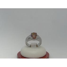 Hermoso Anillo De Plata 925 Con Opalo Y Cristales D8246b5
