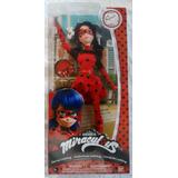 Ban Dai Lady Bug Miraculous Original Muñeca 30 Cm Articulada
