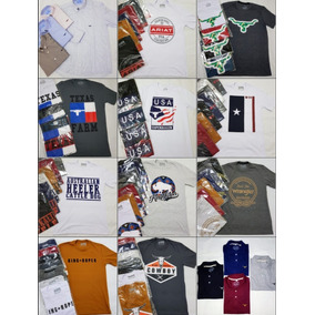Kit 10 Camisetas Atacado Country 2k Gringa King Ranch Farm 8510d325ffe
