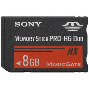 Memory Stick Pro-hg Duo Hx Sony 8gb 30mb/s