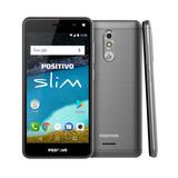 Celular Positivo Slim S510 Dual 8gb 3g Cinza Original