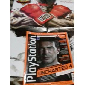 Revista Playstation Mais Poster Street Figther V