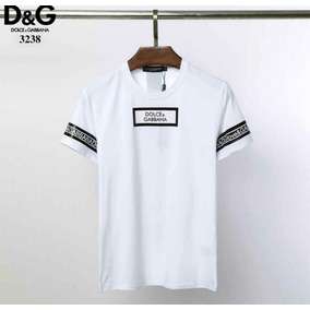 d919dfe6ab72c Camiseta Dolce Gabbana - Camisetas Manga Curta para Masculino no ...