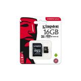 Memoria Micro Sd Kingston Sdcs/16gb, 16 Gb Clase 10